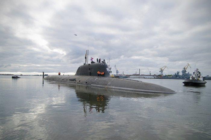 Атомный подводный крейсер «Ульяновск» войдет всостав Северного флота