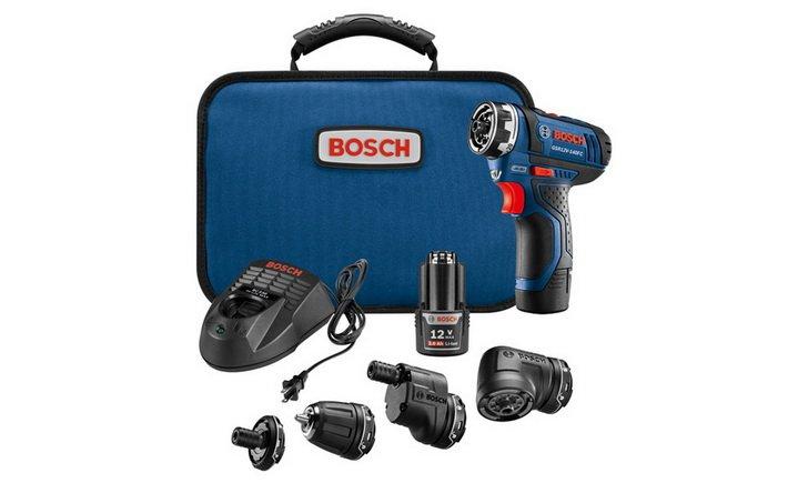 Система Bosch Flexiclick глазами профессионального столяра (на примере GSR12v-140FCB22)