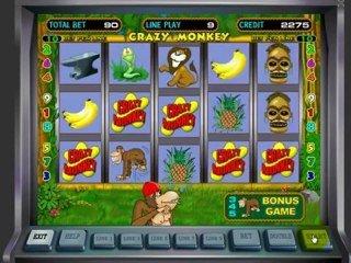 игровой автомат «Крейзи Манки» онлайн